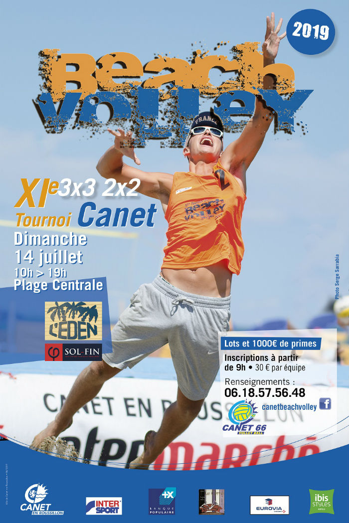 Canet Beach Volley